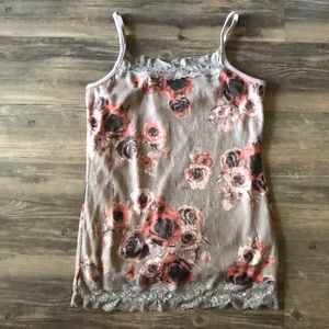 Maurice's Floral Lace Tank